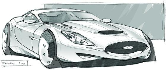 Jaguar Concept Sketch