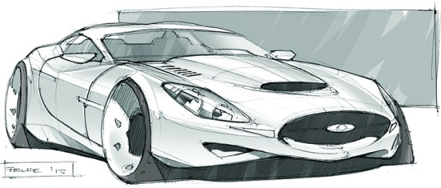 Jaguar Concept Sketch