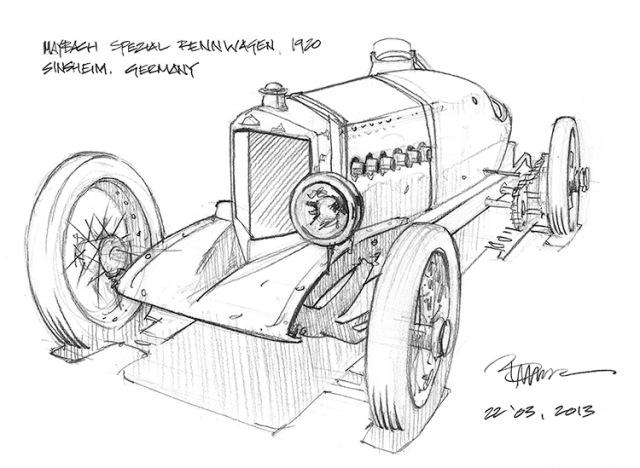 1920 Maybach Spezialrennwagen
