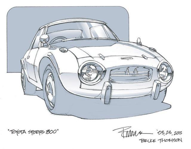 Toyota Sports 800 Bruce Thomson