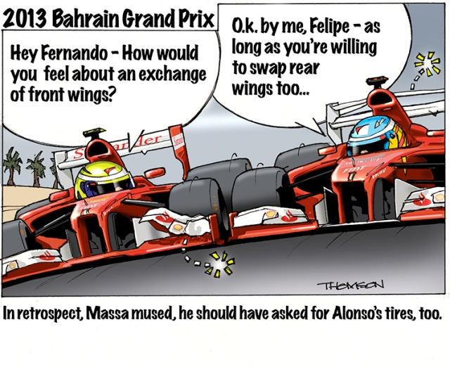 2013 Bahrain Gp Thomson