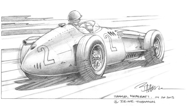 Fangio, Maserati