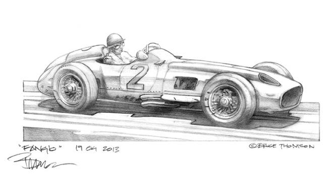 Fangio Mercedes