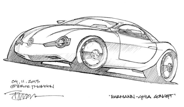 VW Karmann-Ghia Concept