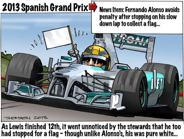 Spanish GP Thomson
