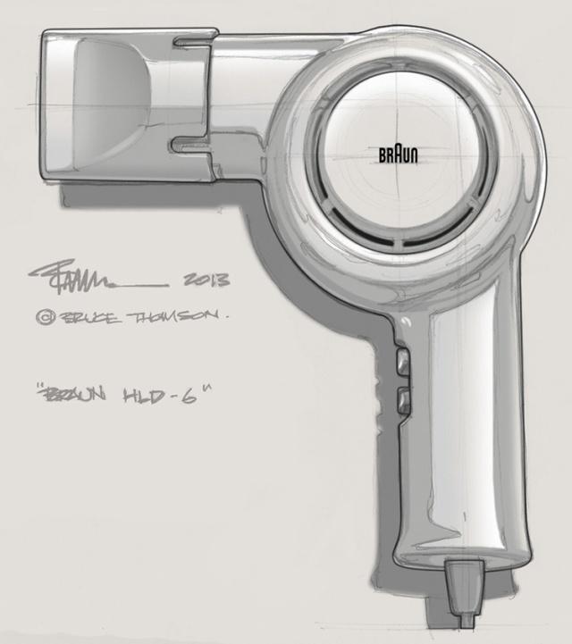 Braun Hairdryer (HLD-6)