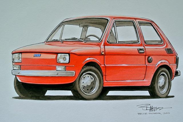Polski Fiat; colour