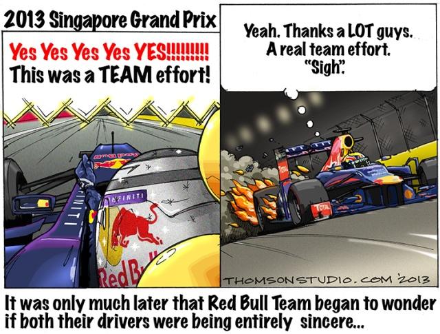 Singapore GP Thomson