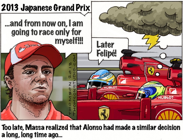 Japanese GP thomson