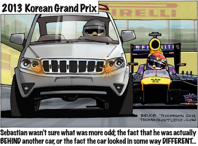 Korean GP Bruce