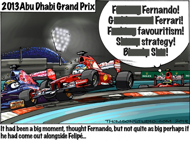 Abu Dhabi GP Thomson