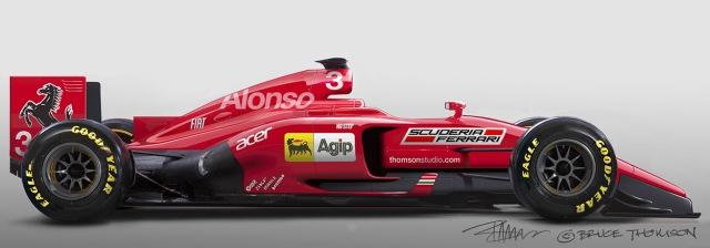 Ferrari F1 thomson