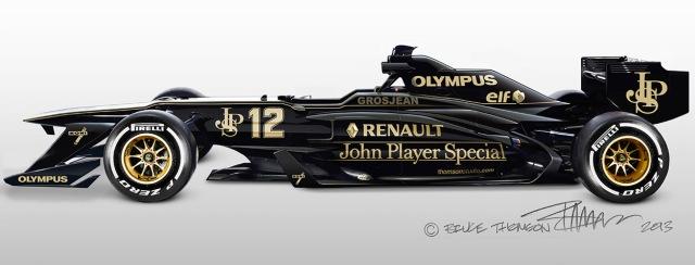 Lotus F1 concept