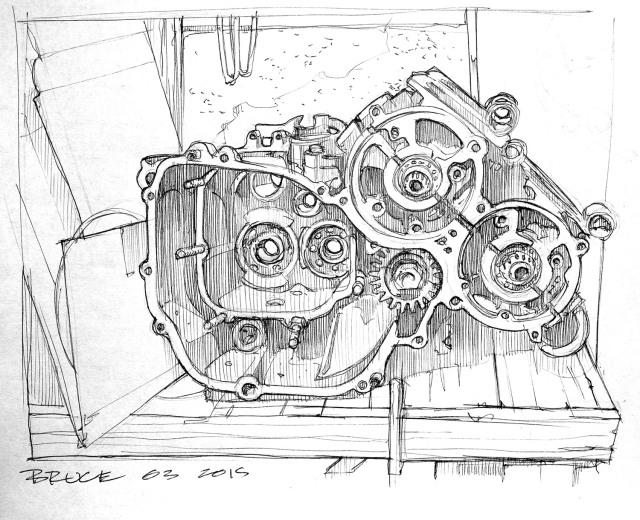 Half engine