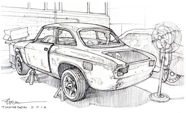 Alfa GTV Ricci