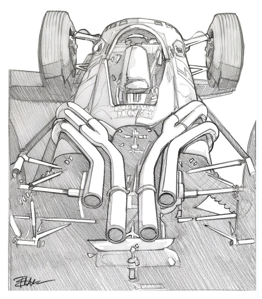 caught in my headlights bruce thomson s sketches page 2 Movie Times Near Me ferrari pipes sketch