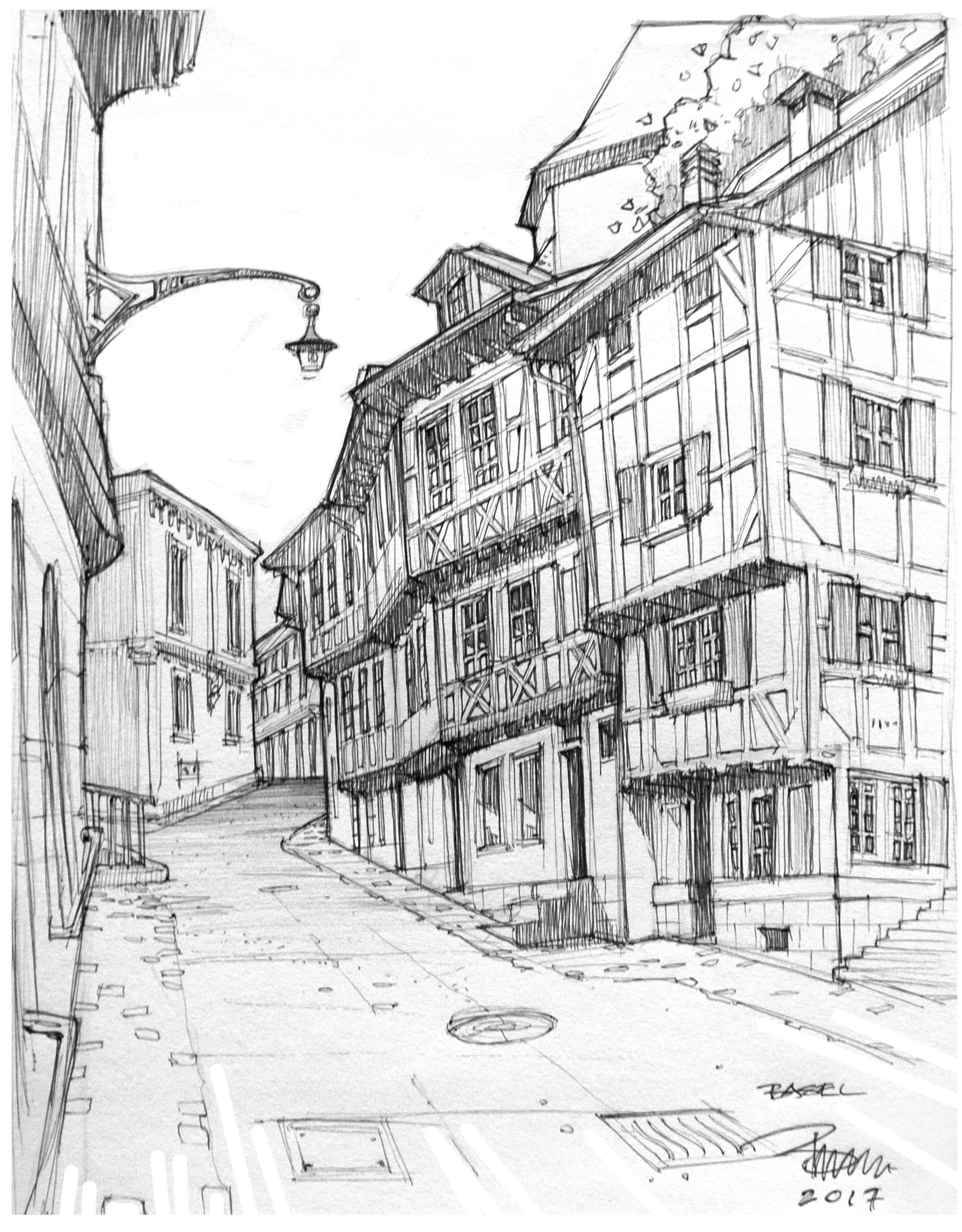 Old Buildings Basel