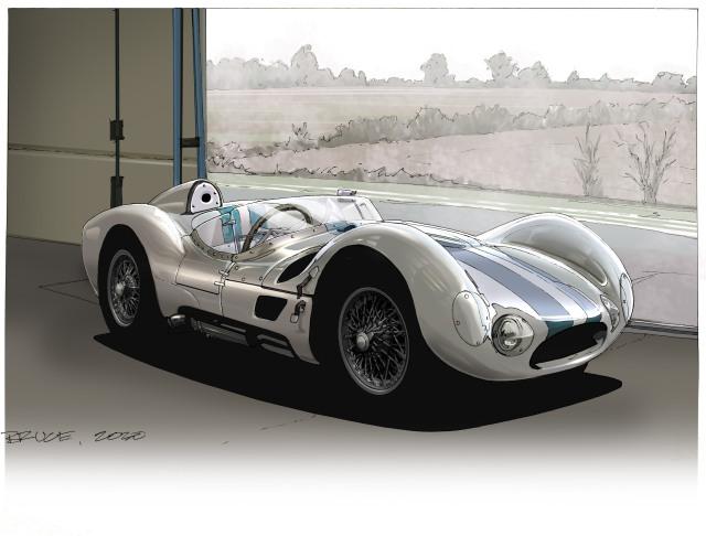 Maserati Birdcage Bruce Thomson